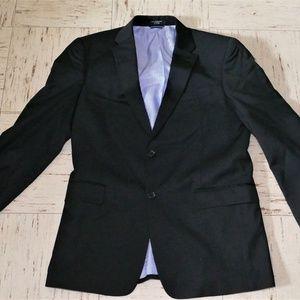 Tommy Hilfiger Mens Black Wool Blazer 41L